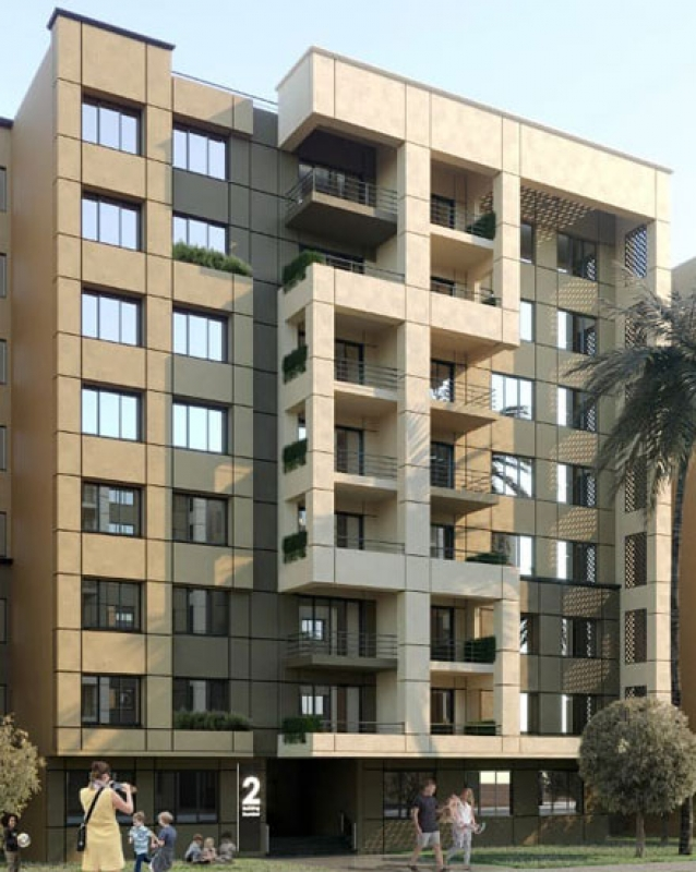 For Sale Fully Finished Apartment 155m with Installment in Ramatan- New Capital City