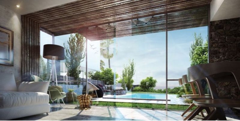 Villa 437m Fully Finished for sale in Water Way - North Coast