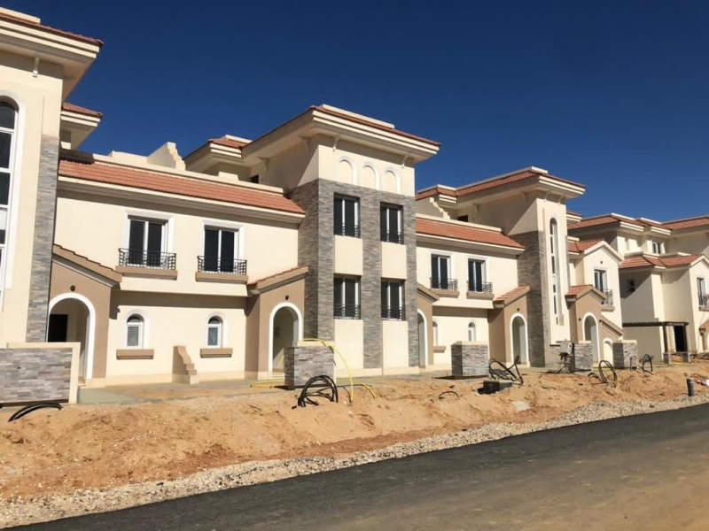 Town house 387 Sqm fully finished for sale in el Maqsed - New Capital