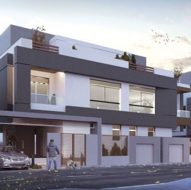 Twin house 292 Sqm for sale in Bleu Vert- New Capital