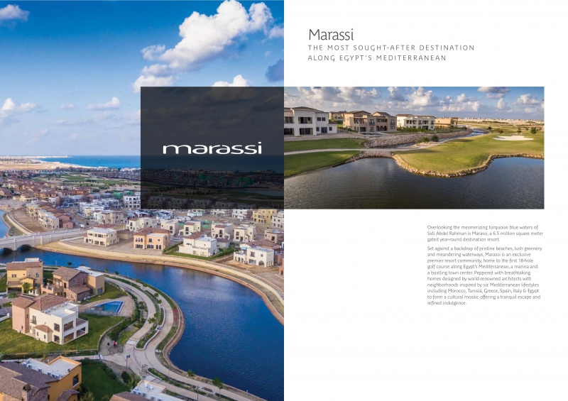 Chalet Fully Finished for sale in Marassi - Lea - North Coast