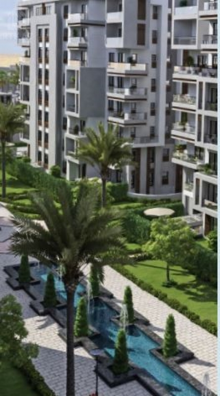 Apartment 71m for sale with installments in Bleu Vert - New Capital
