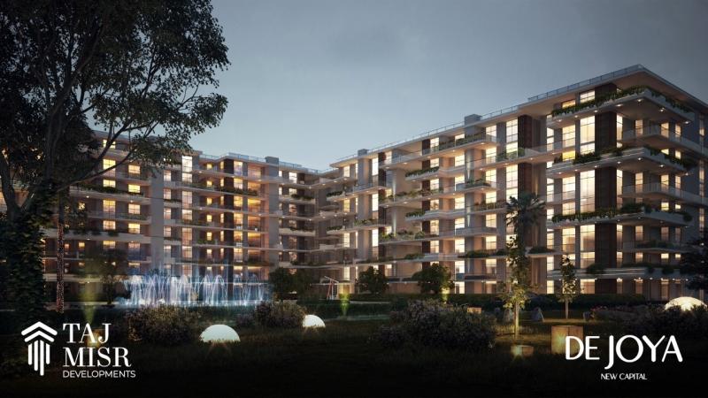 Apartment 179 Sqm for Sale in Dejoya 1 - New Capital by Taj Misr Developments