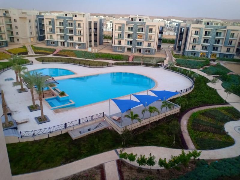 Own Now Ready to Move Penthouse in Galleria New Cairo