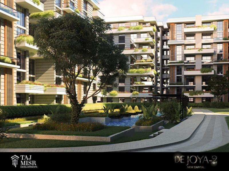 Chance Own Apartment 10 Years Installment in Taj Misr New Capital للبيع شقه باطول تقسيط على 10 سنين