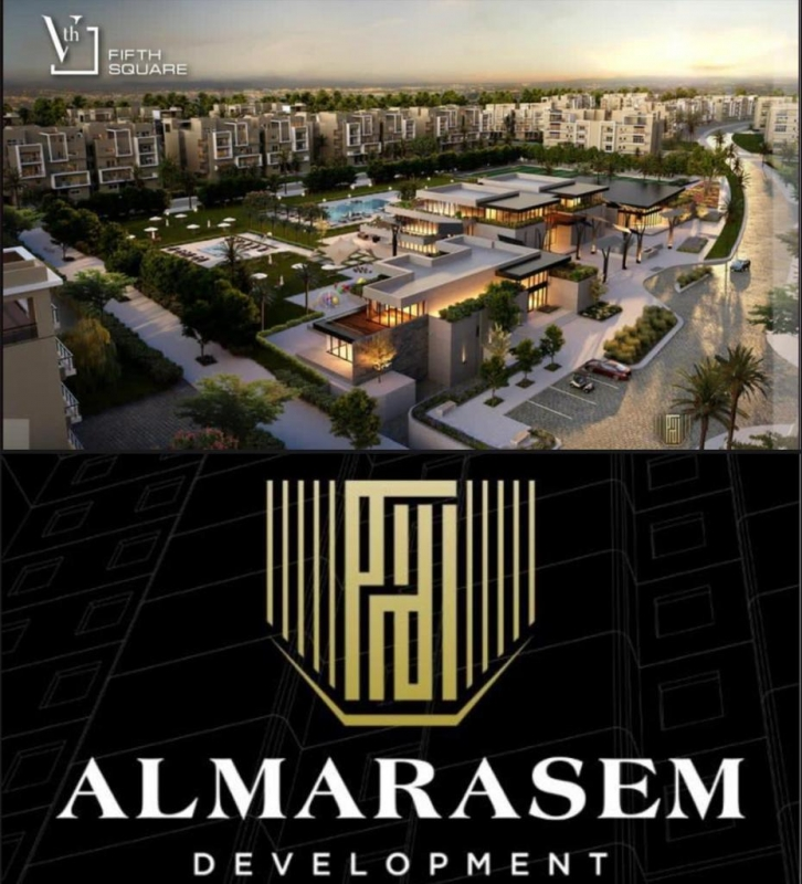 For Sale Fully Finished Penthouse by 7 years in Marasem كمبوند المراسم التجمع