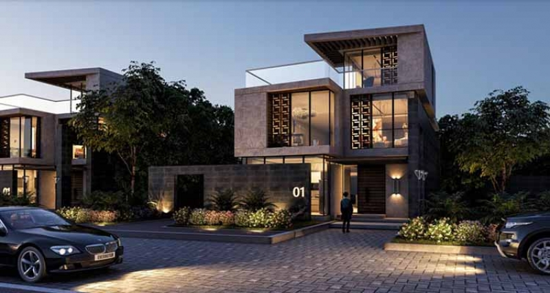 Lowest Standalone Villa Price in The Brooks New Cairo over 9 years