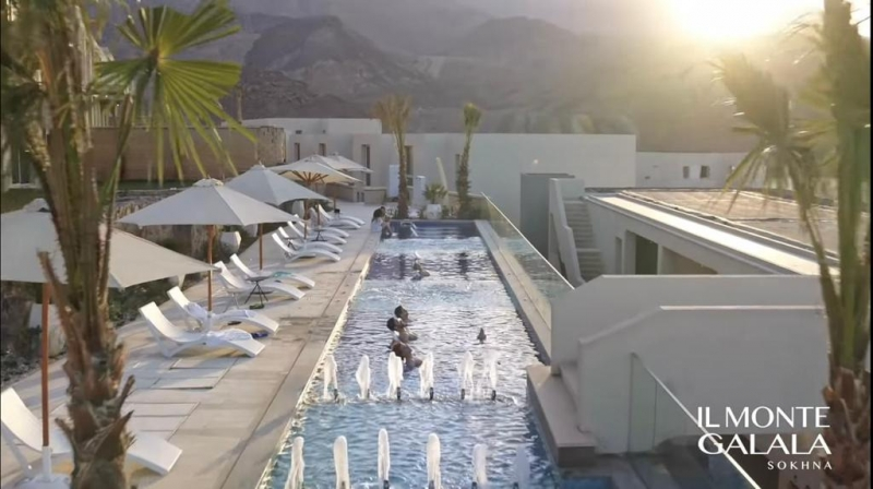 Chalet Lagoon View in IL Monte Galala by Tatwir Misr over 9 Years