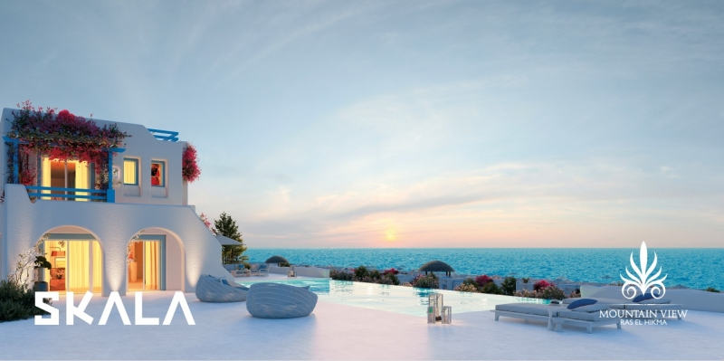 Your Fully Finished Chalet with ACs in Mountain View Ras El Hekma