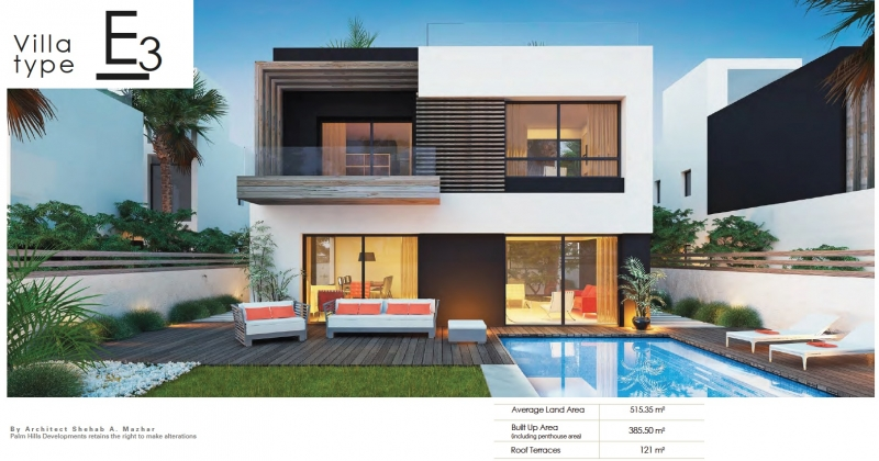 Own your Luxurious Villa now in Palm Hills New Cairo