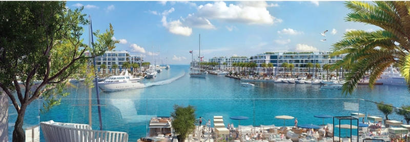 Own your Second Home in Marassi Overlooking the Marina