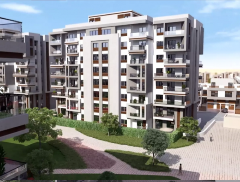 apartment  292m for sale with installments inblue verd - New Capital