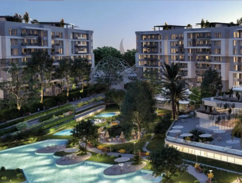 apartment 166m for sale with installments in scene7 - New Capital