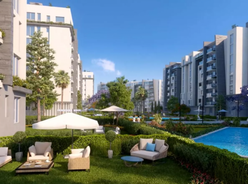 apartment 194m  for sale with installments in pukka - New Capital