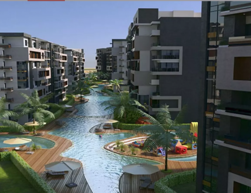 apartment 200m for sale with installments in capital heights 1 - New Capital