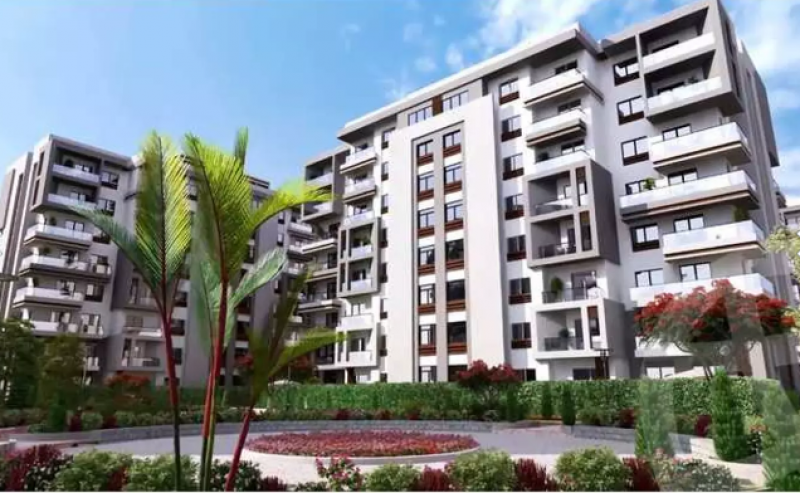 apartment 165m for sale with installments in bleu verd - New Capital