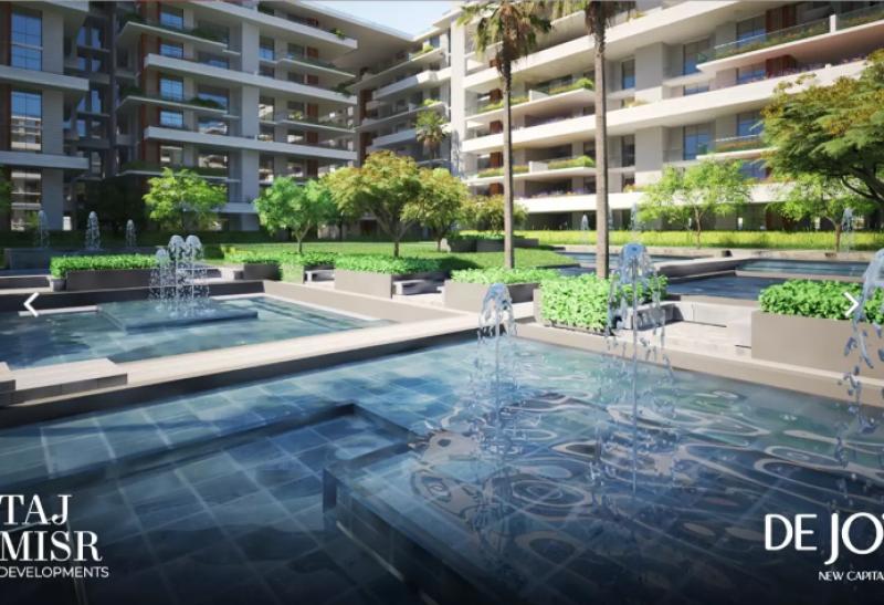 studio 70m with garden for sale in de joya2 - New Capital