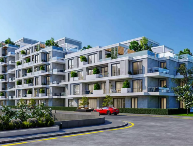 apartment 136m  for sale with installments in the loft - New Capital