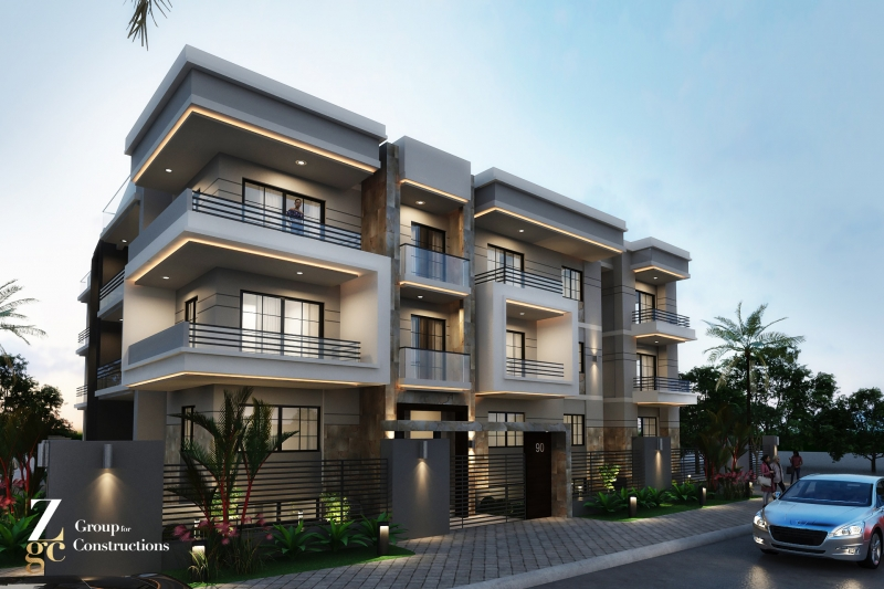 Duplex instant delivery For Sale 365 with Garden in shorouk city