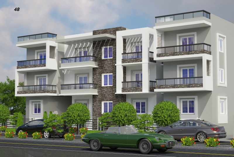 ready to move 138 m with roof 148 m For Sale in shorouk city