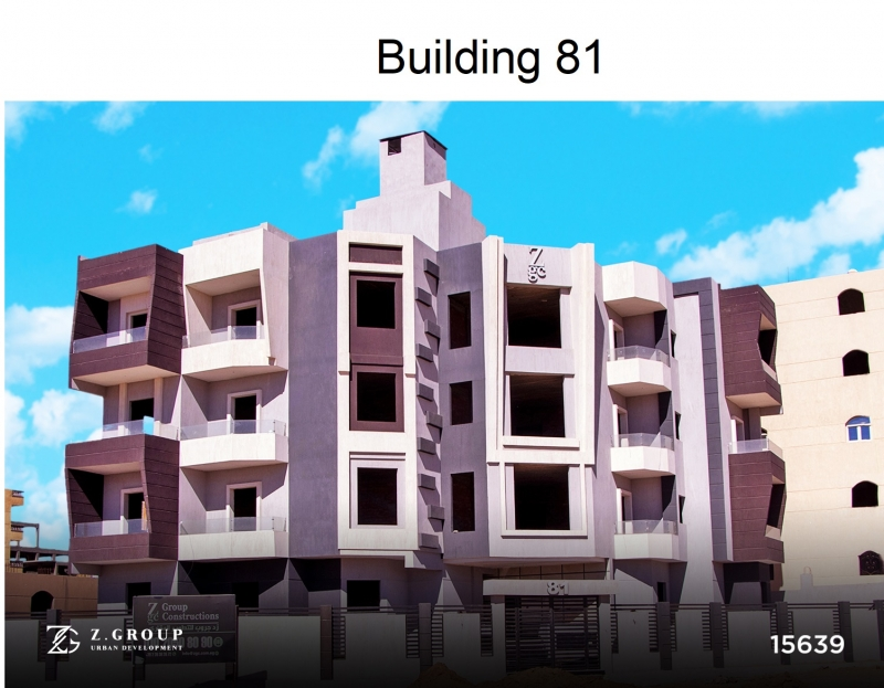 Ready to move Apartment 135 m with garden 96 m For Sale in Badr city